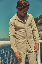 Tan Camorra Slim Fit Shirt
