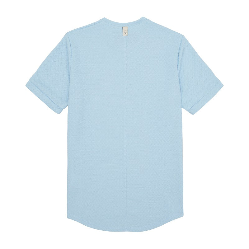 Light Blue Cruise Slim Fit T-Shirt - P r é v u . S t u d i o .