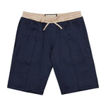 Navy Horizon Contrast Shorts