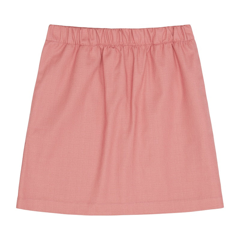 Women's Pink Rosetta Mini Skirt