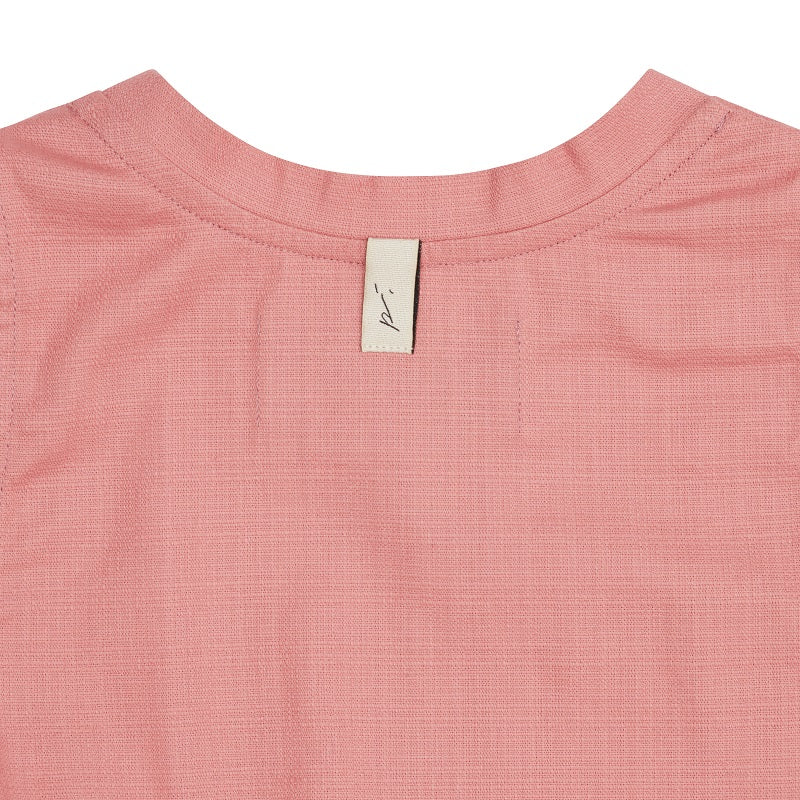 Women's Pink Rosetta Crop Top