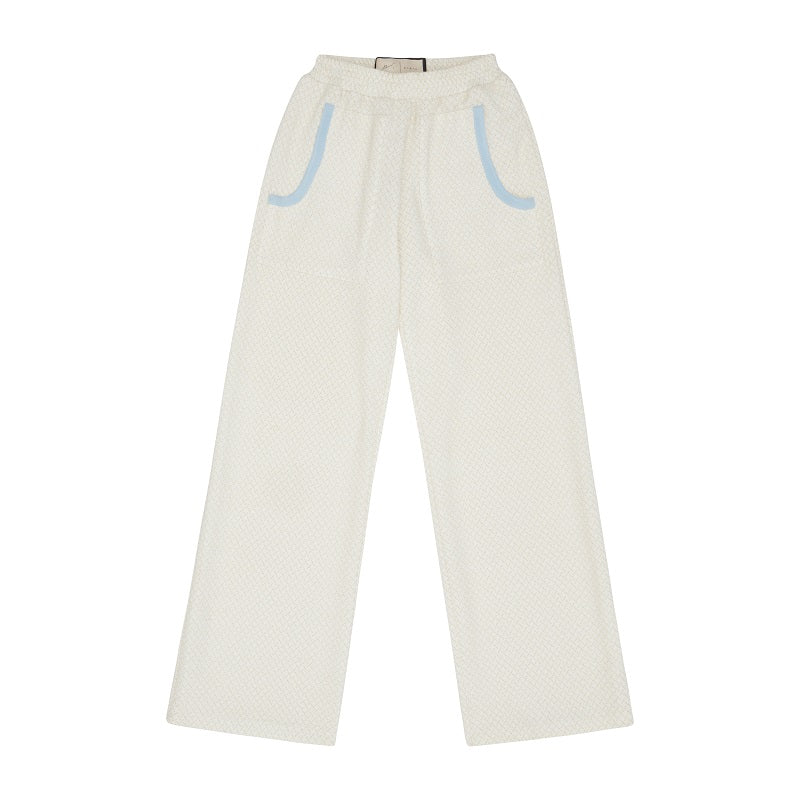 Load image into Gallery viewer, Women's Cream Serena Trousers - P r é v u . S t u d i o .