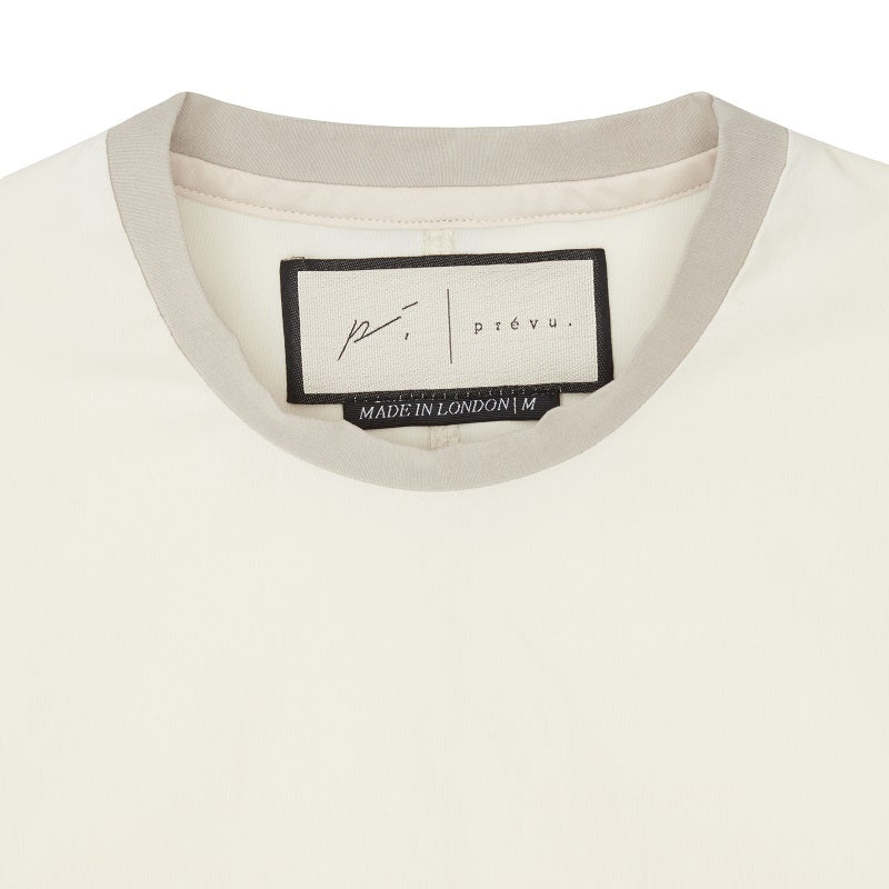 Cream Salvatore Slim Fit T-shirt - P r é v u . S t u d i o .