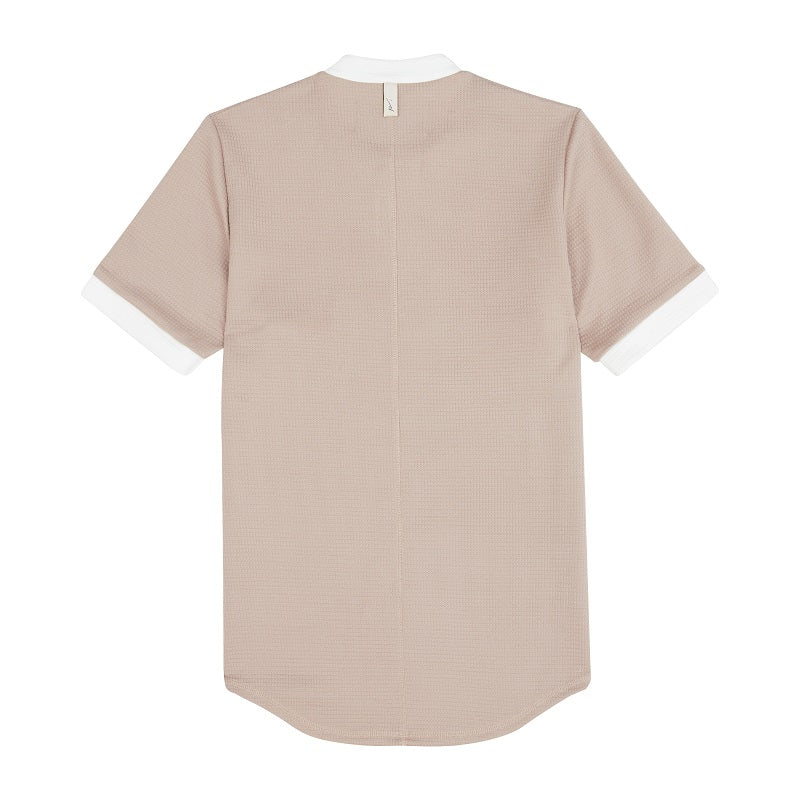 Load image into Gallery viewer, Light Brown Candreva Slim Fit T-shirt - P r é v u . S t u d i o .