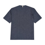 Navy Galli Regular Fit Overshirt - P r é v u . S t u d i o .