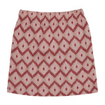 Women's Pink Artemis Jacquard Mini Skirt