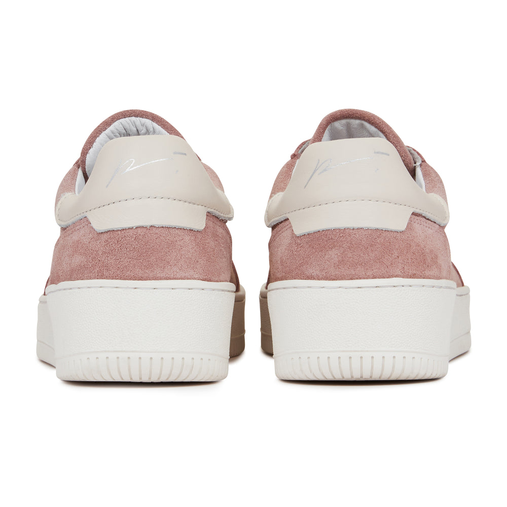 Pink Annecy Suede Trainers