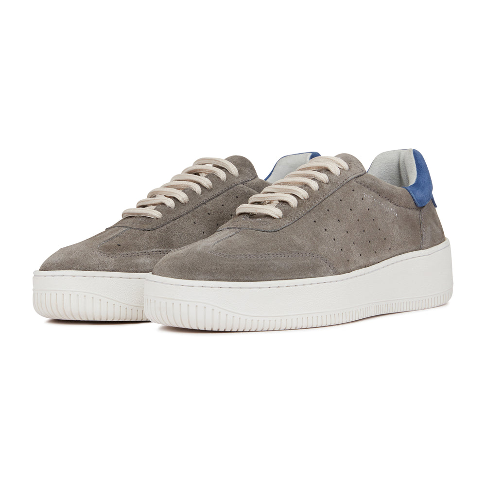 Grey Annecy Suede Trainers