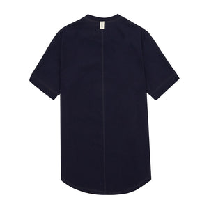 Navy Salvatore Slim Fit T-shirt - P r é v u . S t u d i o .