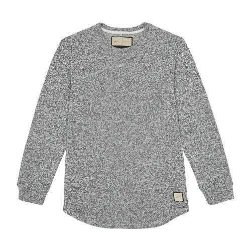 Grey and White Stirling Slim Fit Jumper - P r é v u . S t u d i o .