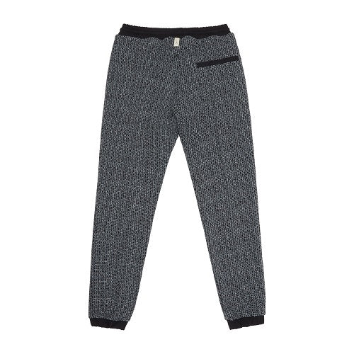 Load image into Gallery viewer, Black Balfour Contrast Check Slim Fit Trousers - P r é v u . S t u d i o .