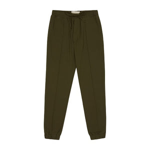 Load image into Gallery viewer, Khaki Salvatore Slim Fit Trousers - P r é v u . S t u d i o .