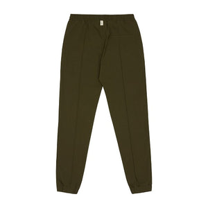 Khaki Salvatore Slim Fit Trousers - P r é v u . S t u d i o .