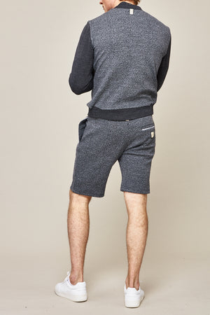 Load image into Gallery viewer, Grey Astell Flecked Shorts - P r é v u . S t u d i o .