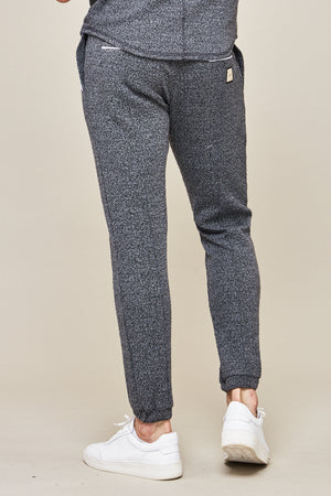 Grey Astell Flecked Slim Fit Joggers - P r é v u . S t u d i o .