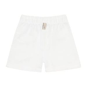 Kids Cream Cruise Shorts - P r é v u . S t u d i o .