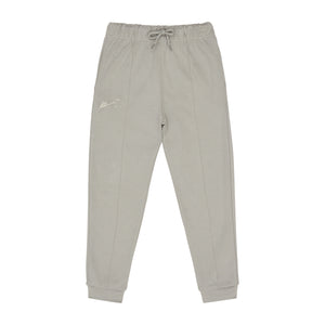 Load image into Gallery viewer, Kids Light Grey Signature Logo Joggers - P r é v u . S t u d i o .