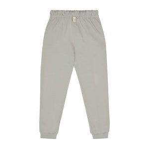 Kids Light Grey Signature Logo Joggers - P r é v u . S t u d i o .