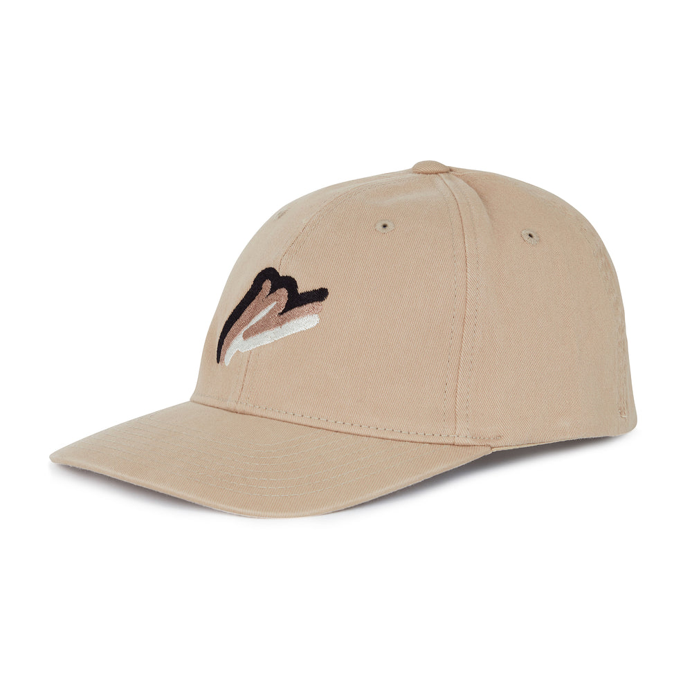 Load image into Gallery viewer, Washed Stone Tri Logo Baseball Cap - P r é v u . S t u d i o .