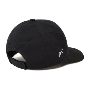 Load image into Gallery viewer, Kid's Black Signature Logo Cap - P r é v u . S t u d i o .