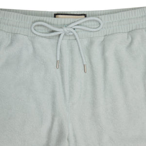 Light Blue Astor Towelling Joggers - P r é v u . S t u d i o .