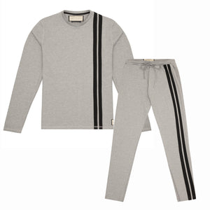 ARTHUR AVENUE LIGHT GREY TROUSER TWINSET