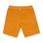 Orange Astor Towelling Shorts - P r é v u . S t u d i o .