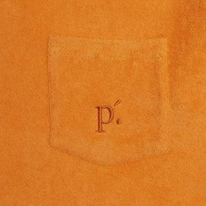 Load image into Gallery viewer, Orange Astor Towelling Short Sleeve Slim Fit Polo - P r é v u . S t u d i o .