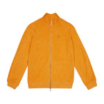 Orange Astor Towelling Track Jacket