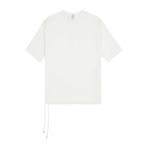 Cream Core Luxe Regular Fit T-Shirt - P r é v u . S t u d i o .