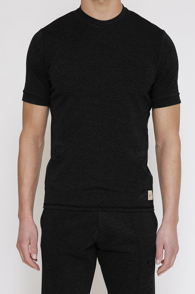 Black Belmont Slim Fit T-shirt - Prévu Studio