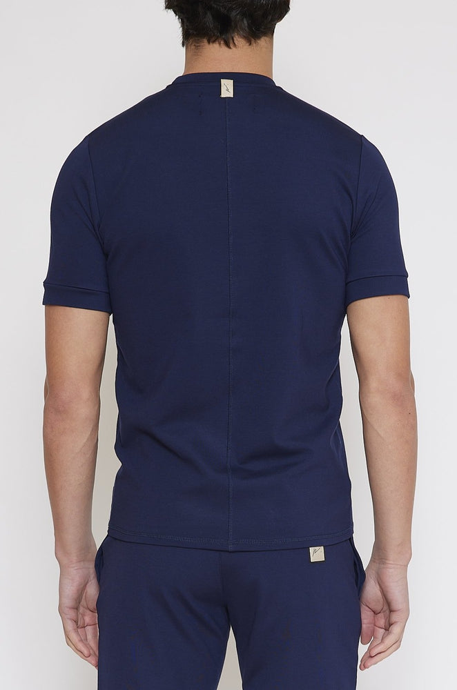 Navy Belmont Slim Fit T-shirt - Prévu Studio