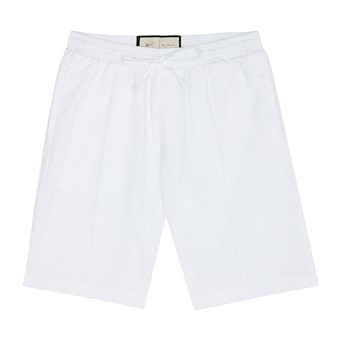 White Ripple Shorts