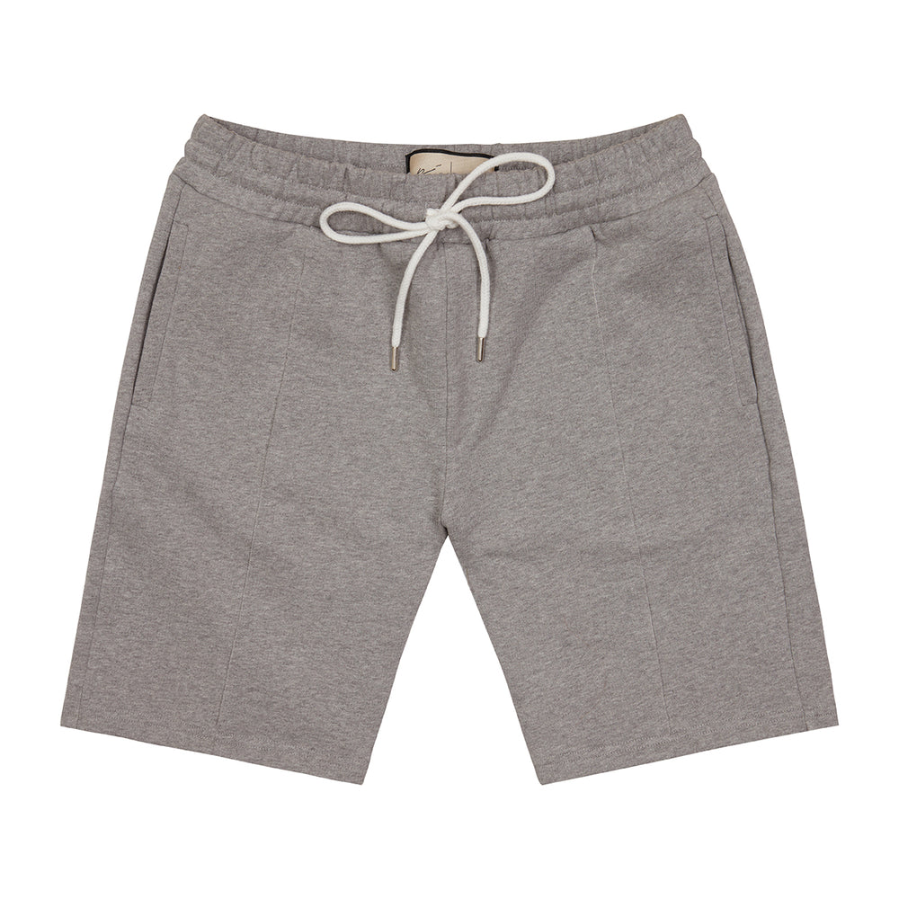 Grey Core Luxe Shorts