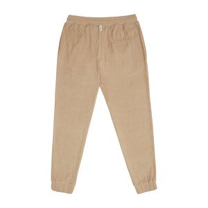 Load image into Gallery viewer, Tan Astor Towelling Joggers - P r é v u . S t u d i o .