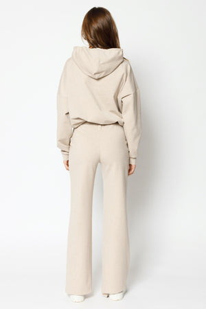 Load image into Gallery viewer, Women's Cream Colville Regular Fit Hoodie - P r é v u . S t u d i o .