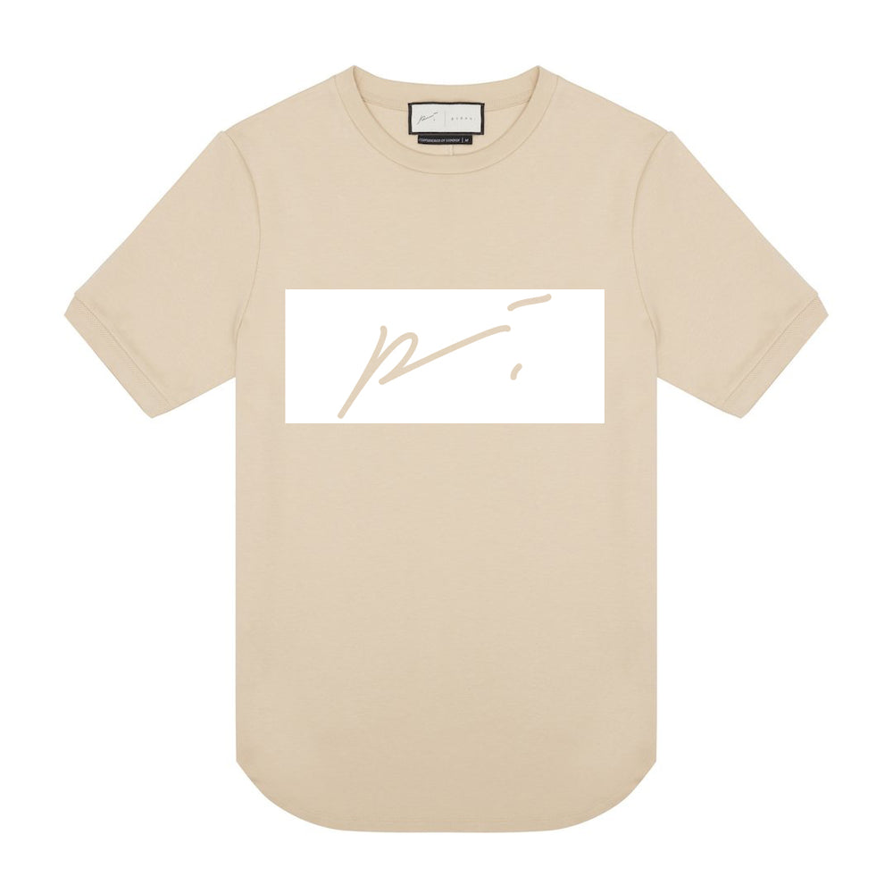 Core Cotton Print Tee Box logo