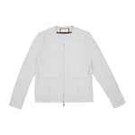 Albany Street Collarless Jacket