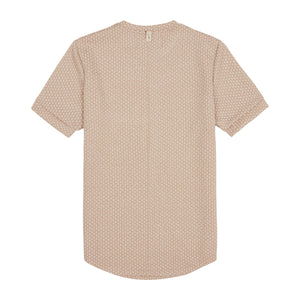 Load image into Gallery viewer, Beige Artisan Slim Fit T-shirt - P r é v u . S t u d i o .