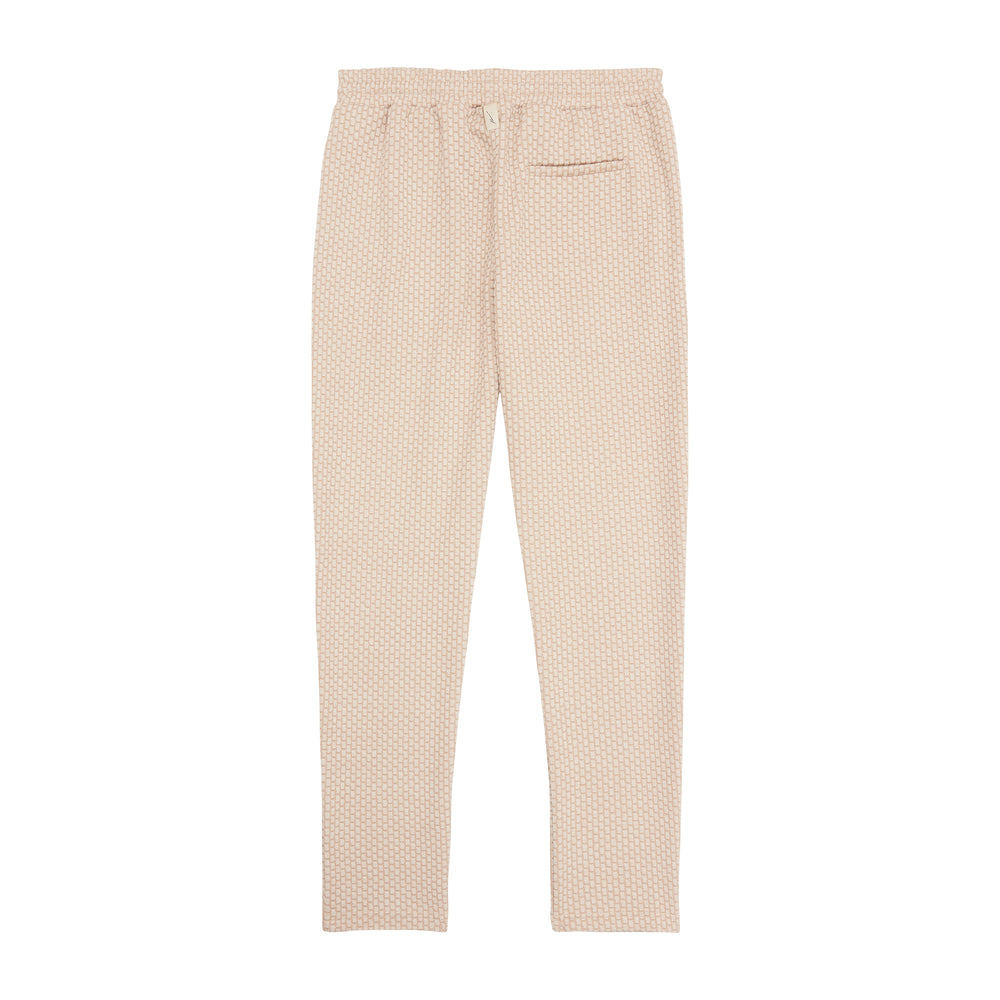 Load image into Gallery viewer, Beige Artisan Slim Fit  Trouser - P r é v u . S t u d i o .