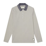 Stone Vinci Zip Neck Slim Fit Polo