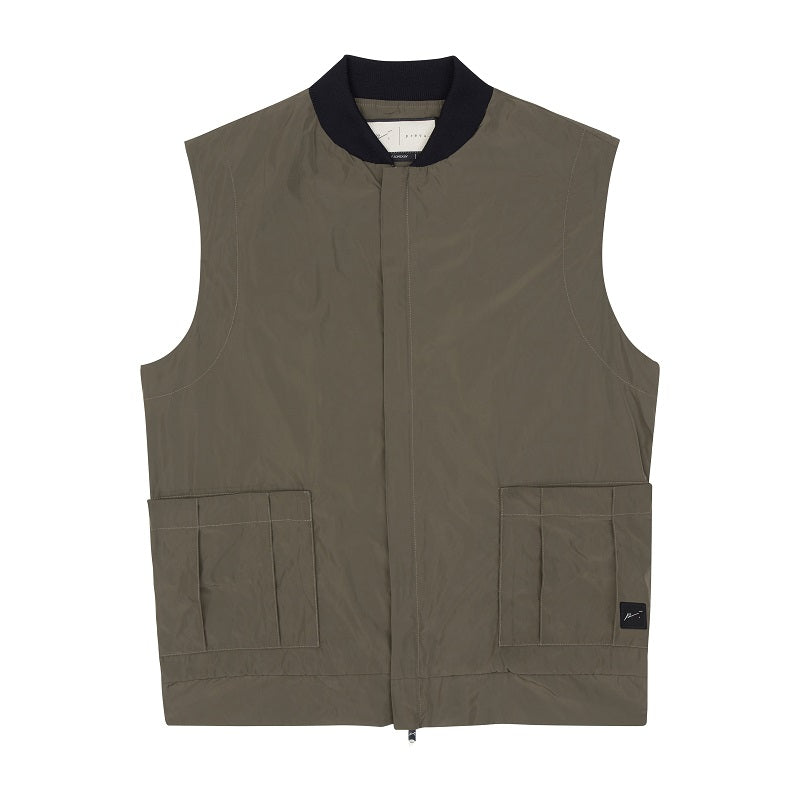 Khaki Galileo Technical Gilet