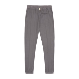 Dark Grey Broad Street Slim Fit Trousers - P r é v u . S t u d i o .