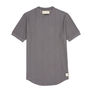 Dark Grey Broad Street Slim Fit T-Shirt - P r é v u . S t u d i o .