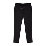 Black Trentino Slim Fit Trousers - P r é v u . S t u d i o .