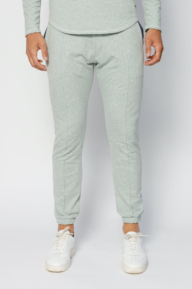 Mint Green Astral Marl Slim Fit Joggers