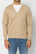 Beige Wentworth Knitted Cardigan