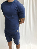 Washed Blue Salvatore Slim Fit T-shirt - P r é v u . S t u d i o .