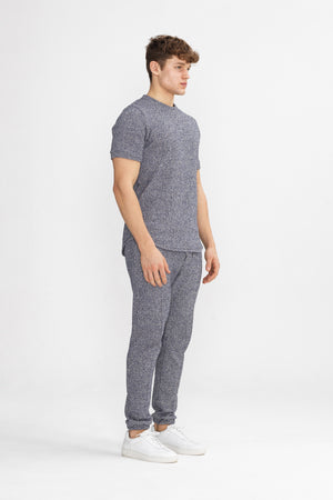 Load image into Gallery viewer, Blue Alnwick Slim Fit Trousers - P r é v u . S t u d i o .
