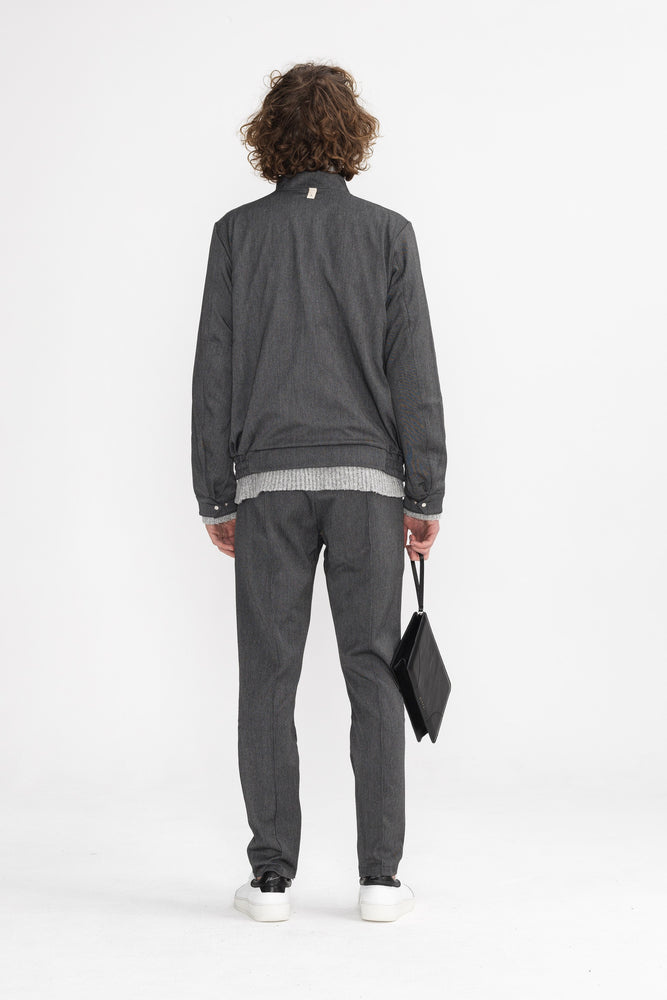 Load image into Gallery viewer, Chambers Street Trouser Grey - P r é v u . S t u d i o .